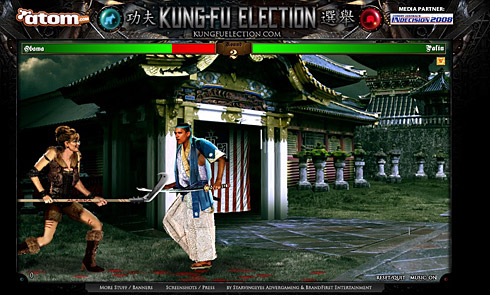 Kung-fu election